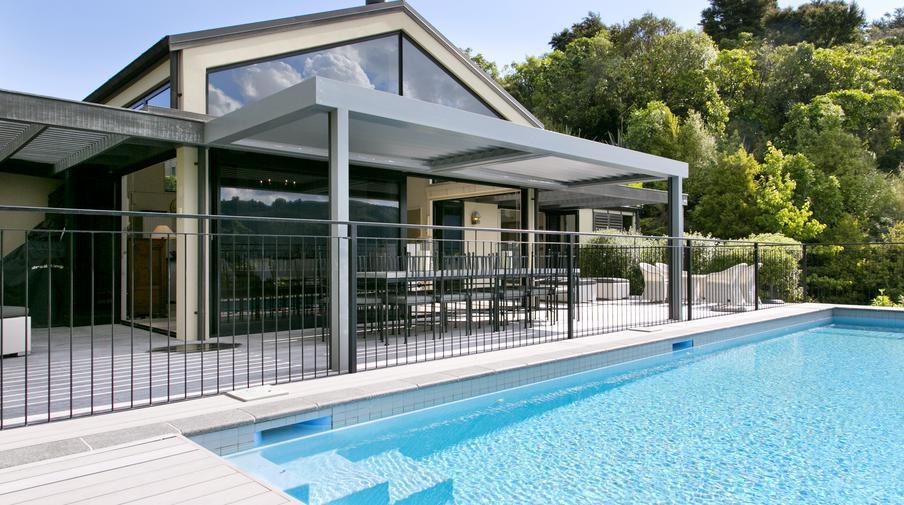 Villa 1 tatamoana amazing accom for Minimalist house lake taupo